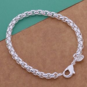 Classic Sterling Silver Rolo Chain Bracelet